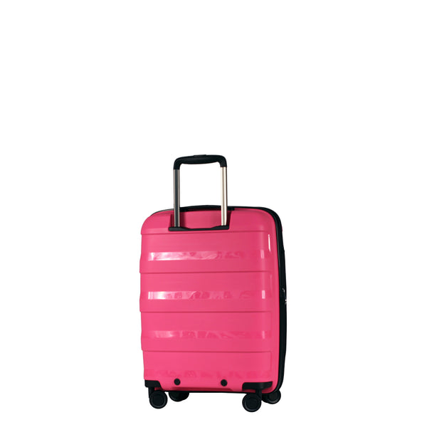 Tosca Comet Magenta 55cm Cabin Approved 4-Wheel Trolley Case