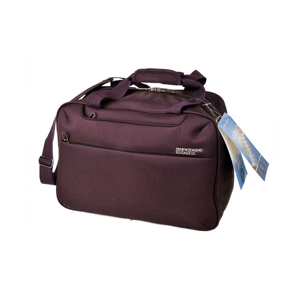 AIR4044T New Zealand Luggage Co So-Lite Plum Trolley Adapted Cabin Tote