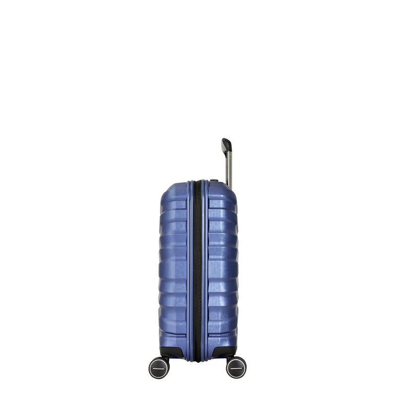 KH93C Eminent Blue 55cm Luxury Cabin-Approved 4-Wheel Trolley Case