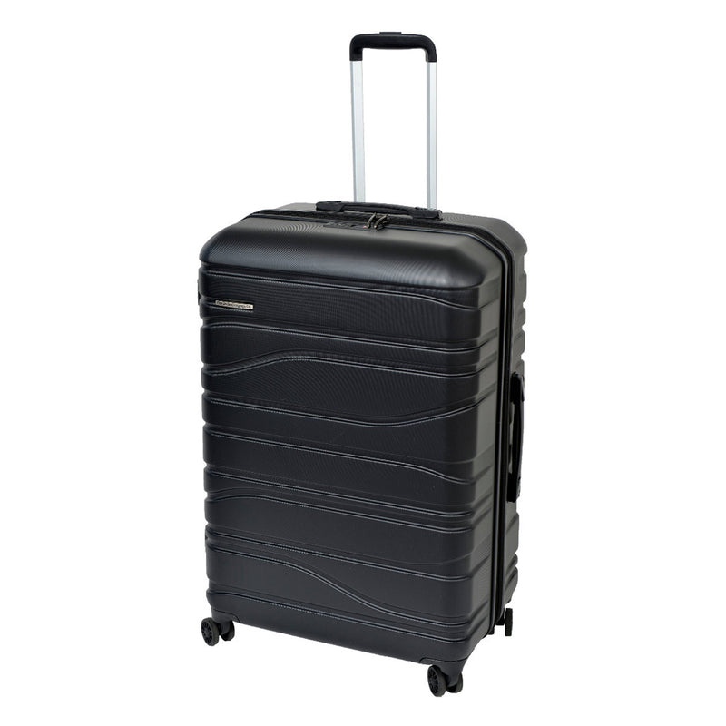 SS604A Franz Josef Black 76cm 4-Wheel Trolley Case