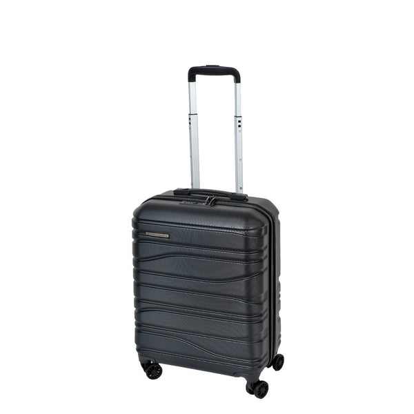 Franz Josef Black 55cm Cabin Approved 4-Wheel Trolley Case