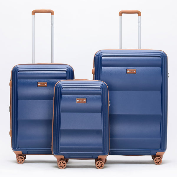 Tosca-Belmont Navy Luggage Set