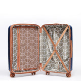 Tosca-Belmont Navy 65cm Luxury Trolley Case