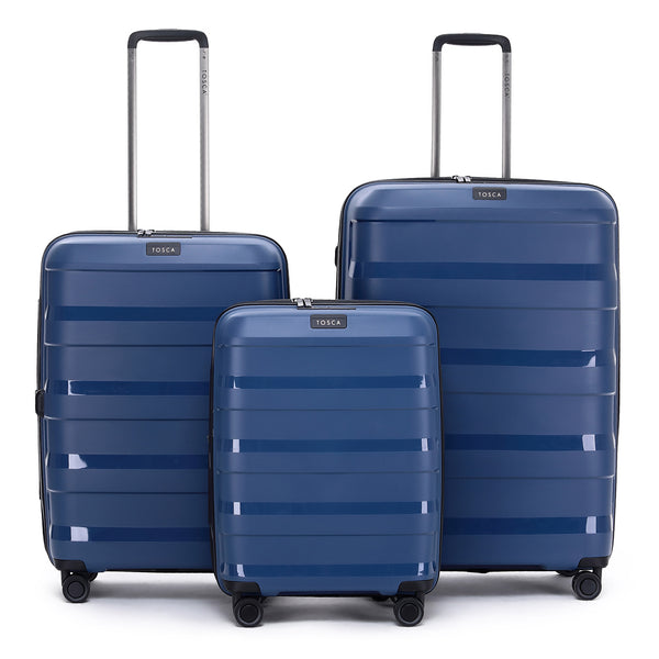 Tosca Comet Navy Luggage Set