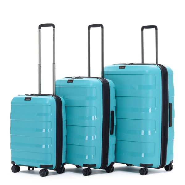 Tosca Comet Teal Luggage Set