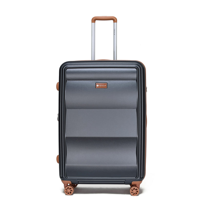 Tosca-Belmont Black 75cm Luxury Trolley Case