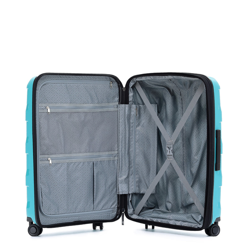 Tosca Comet Teal 78cm 4-Wheel Trolley Case