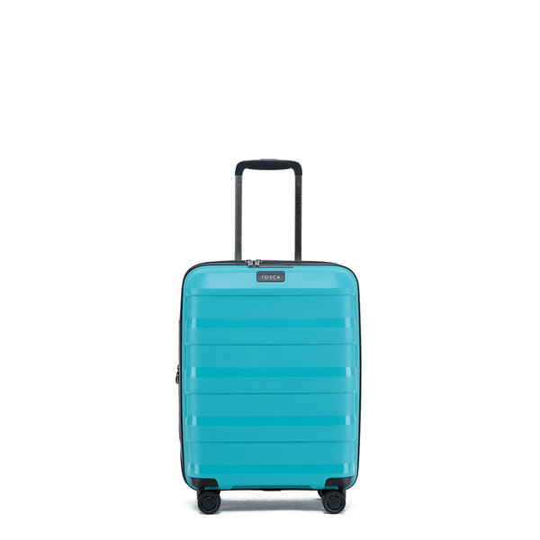 Tosca Comet Teal 55cm Cabin Approved 4-Wheel Trolley Case