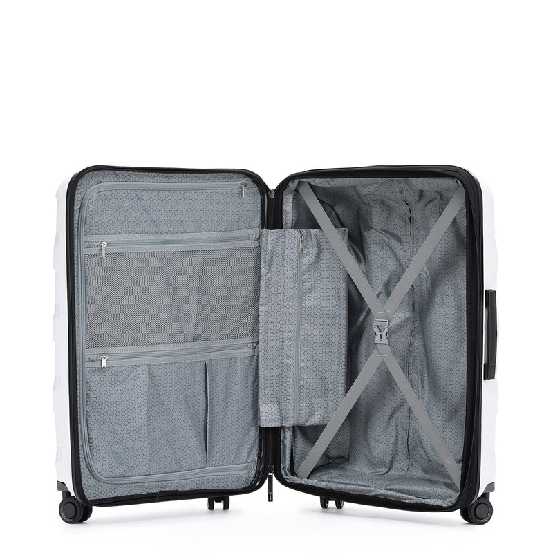 TCA200 Comet White Luggage Set