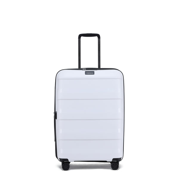 Tosca Comet White 67cm 4-Wheel Trolley Case