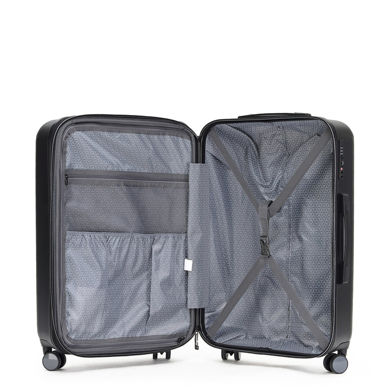 Tripster Black 74cm 4-Wheel Trolley Case