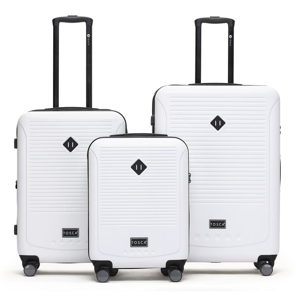 Tripster White Luggage Set