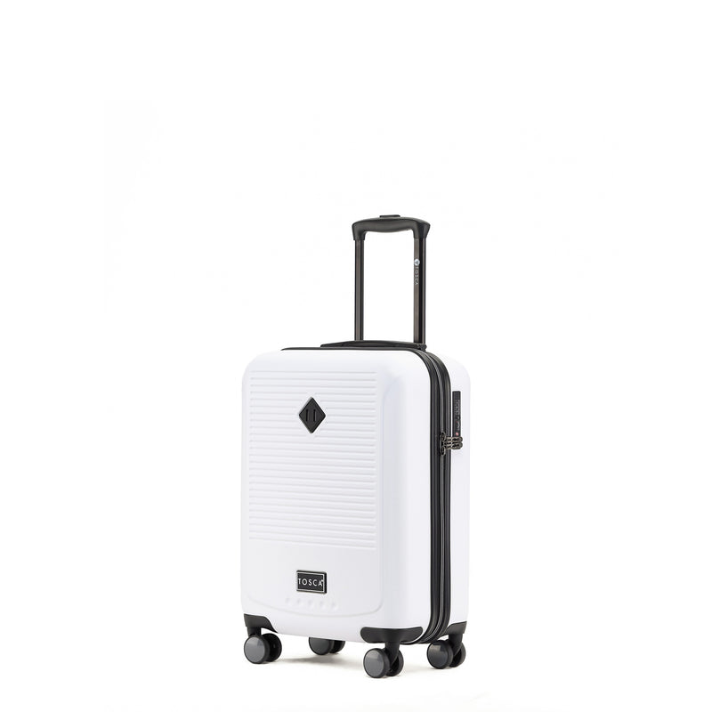 Tripster White 52cm Cabin-Approved 4-Wheel Trolley Case