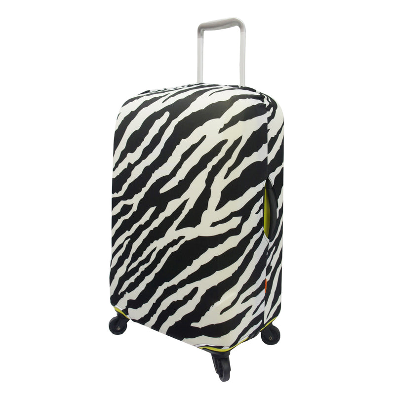 Zebra Spandex Stretchy Luggage Cover