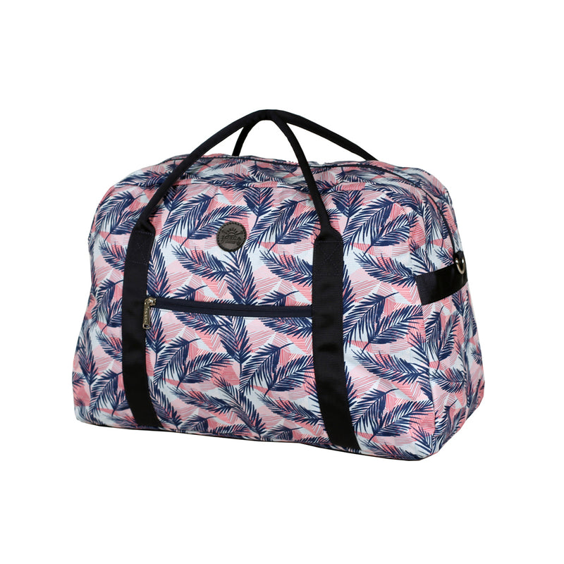 Coral Ferns Overnight Bag