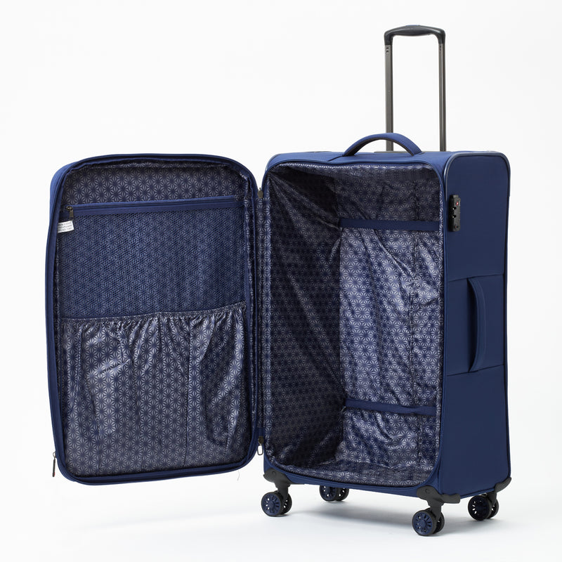 New Zealand Luggage Company So-Lite Navy 78cm 4-Wheel Trolley Case