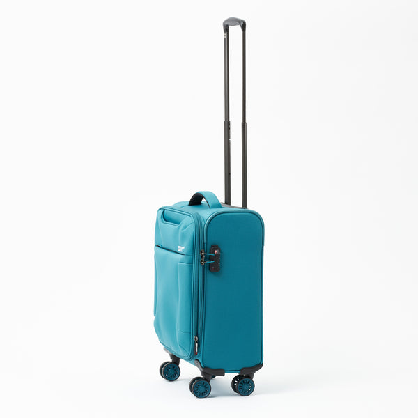 New Zealand Luggage Company So-Lite Teal 53cm 4-Wheel Trolley Case
