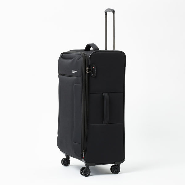 New Zealand Luggage Company So-Lite Black 78cm 4-Wheel Trolley Case