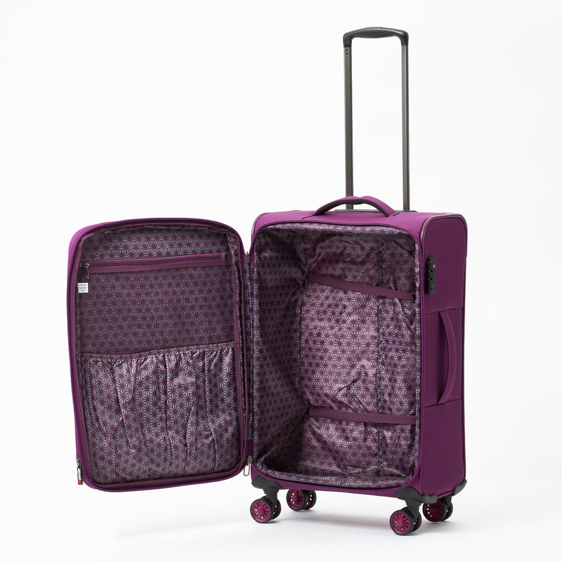 New Zealand Luggage Company Purple So-Lite Luggage Set