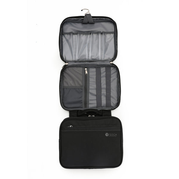 TCA583 Black Deluxe 33cm Travel Organizer