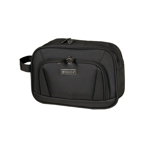 TCA608 Black Tosca Men's Toiletry Bag