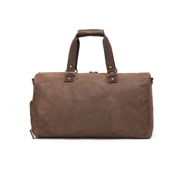 WC011 Waxed canvas Large Duffle bag