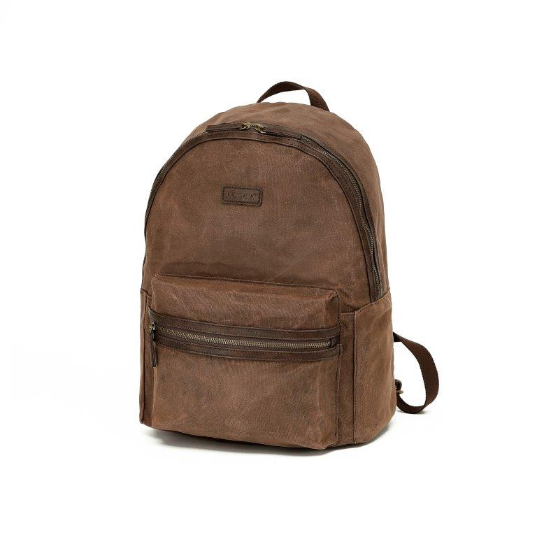 WC012 Waxed canvas back pack