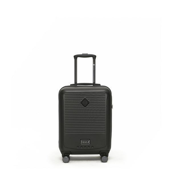 Tripster Black 52cm Cabin-Approved 4-Wheel Trolley Case