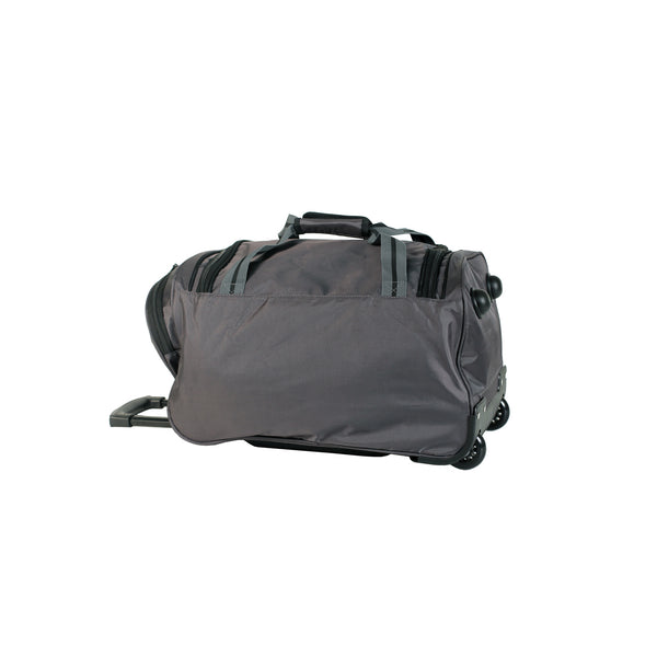 TCA794TWS Small Grey Wheeled Sport Duffle Bag