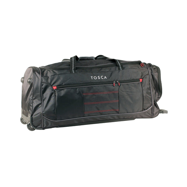 Jumbo Black wheeled Sport Duffle Bag