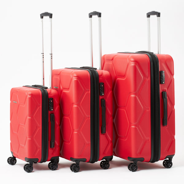Moeraki Red Luggage Set