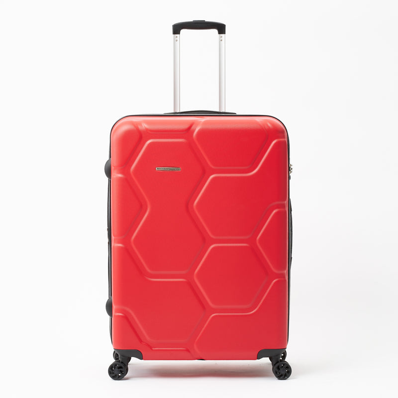 Moeraki Red 76cm 4-Wheel Trolley Case