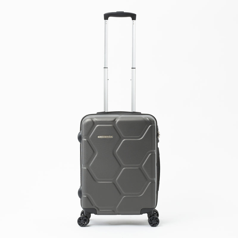 Moeraki Charcoal 55cm Cabin Approved 4-wheel Trolley Case