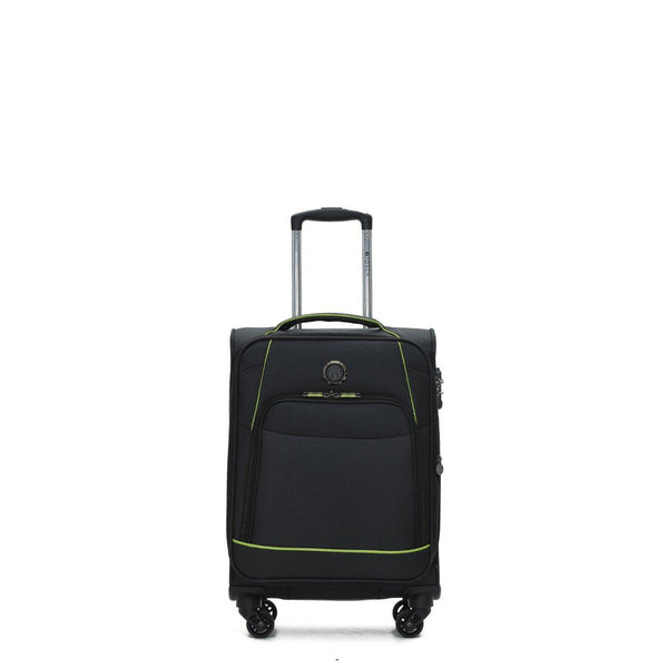 Sky-High Black 48cm Luxury Cabin Approved Trolley Case