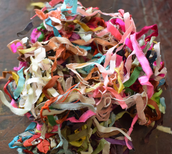 Antique Japanese Silk Ribbon