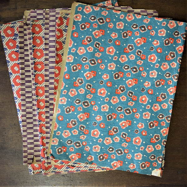 Vintage Japanese Paper Bundle
