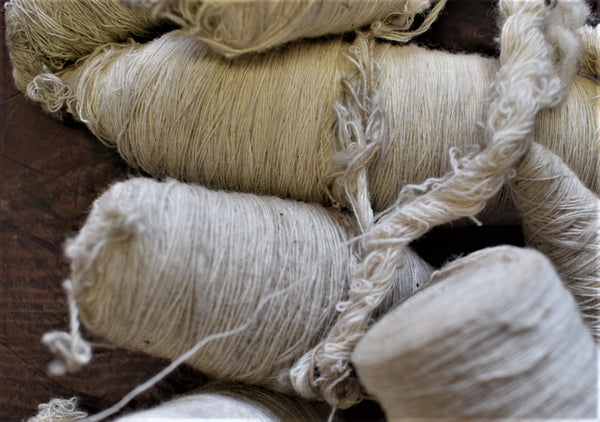 Antique  Handspun Cotton Thread