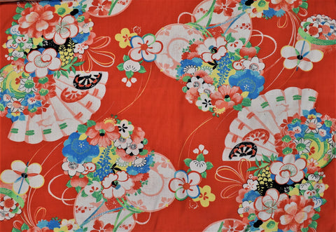 Antique Floral Silk - Wide