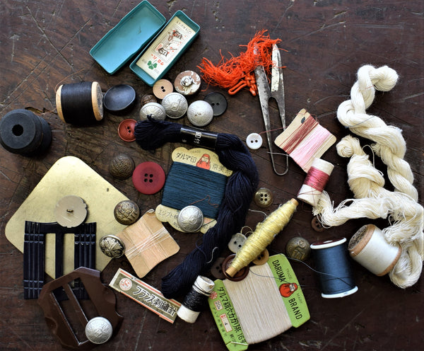 Old Sewing Bits and PIeces