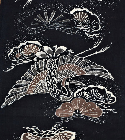 Katazome  Futon Cover Panel
