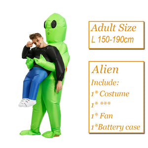 Hot Flamingo Inflatable Costumes Halloween Purim Alien Costume For kids Adult Men Women Dress Inflatable Costume Party Carnival