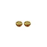 Adonis Flower Stud Earrings