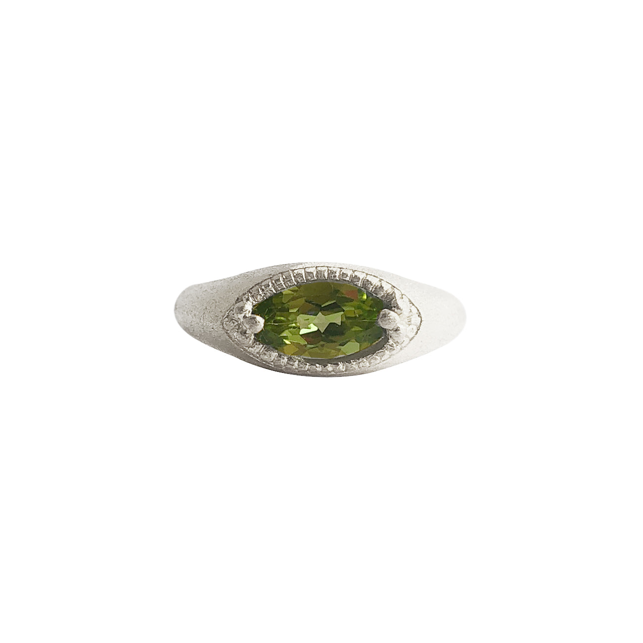 Catha Ring with Peridot - Limited Edition