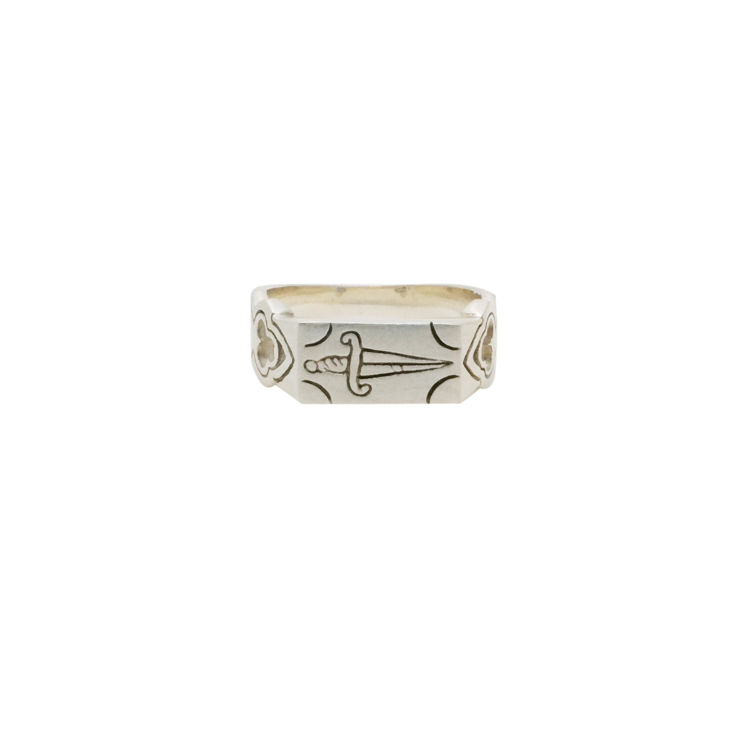 HuntOfHounds_ProtectionHunt Of Hounds Protection Ring. Dagger with Gothic details.
