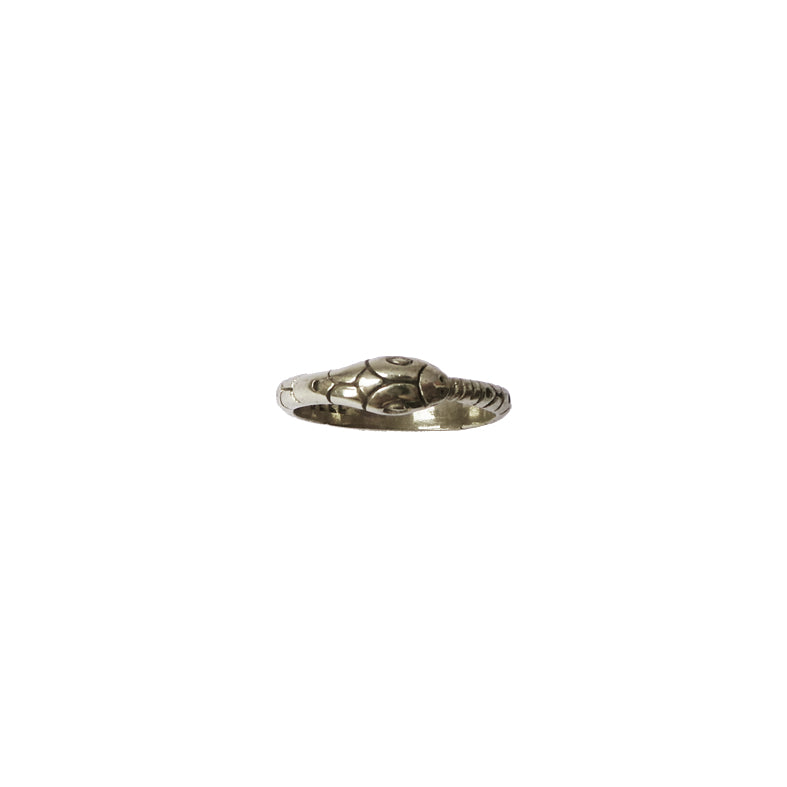 Hunt Of Hounds Eternal Serpent Ring. Snake ring with All In All engraved inside the band.