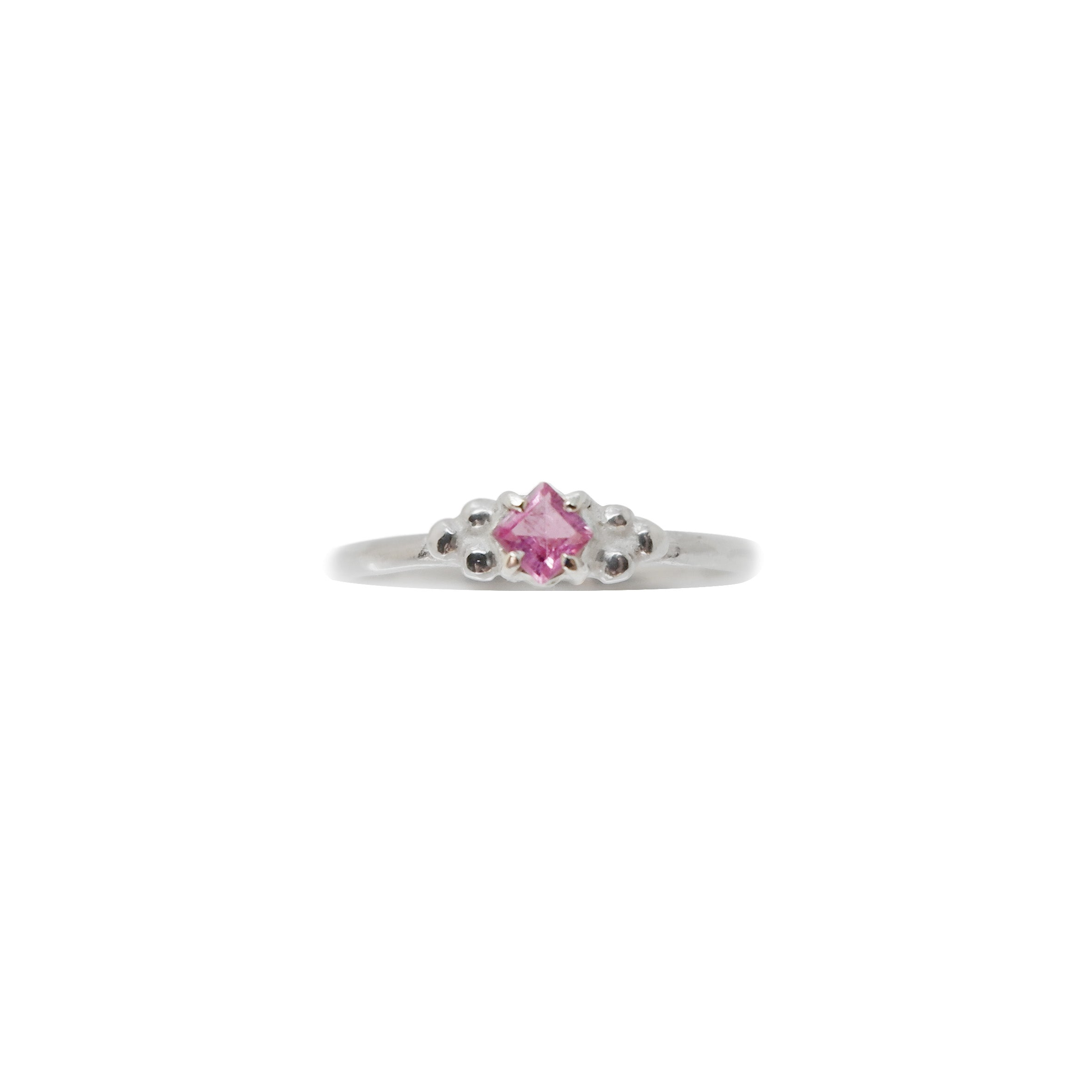 Hunt Of Hounds Tulang Solitaire with PinkTourmaline