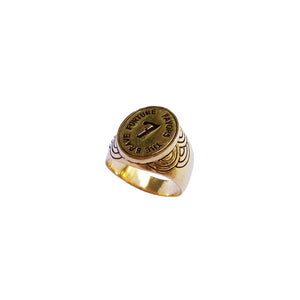 Fortune Favors The Brave Signet Ring