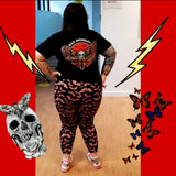 Death Head Moth Leggings