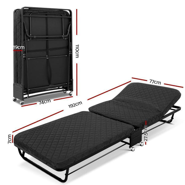 Artiss Portable Foldable Bed DSZ
