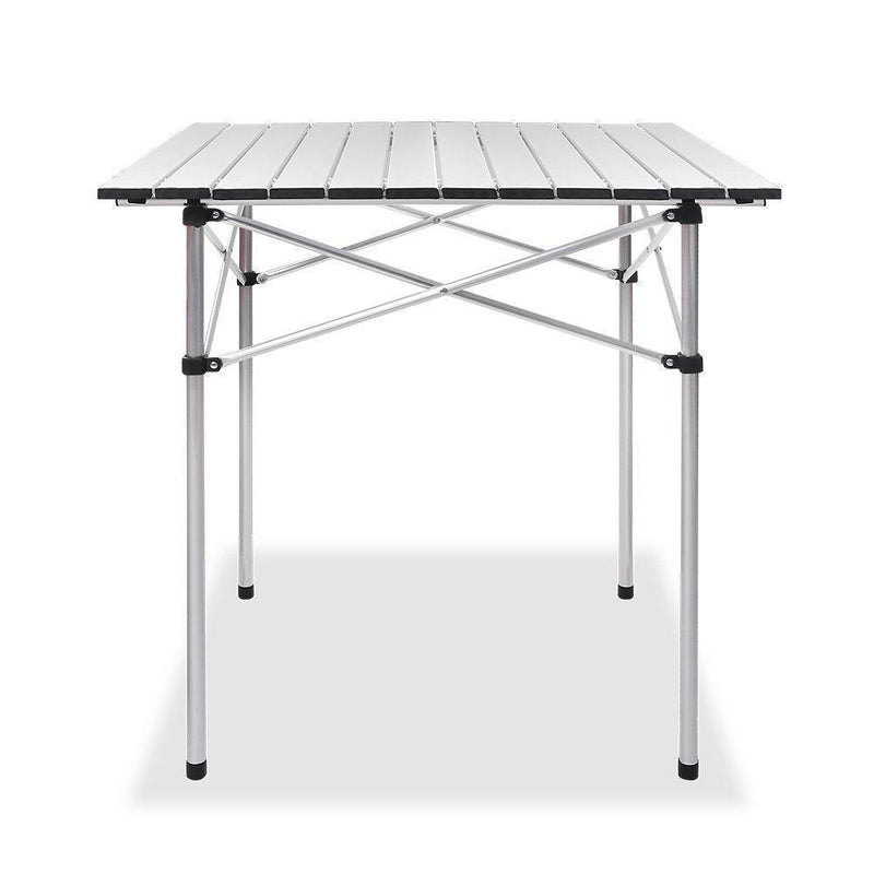 Weisshorn Portable Roll Up Folding Camping Table DSZ